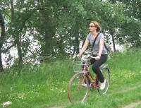 Bicycle routes down Danube